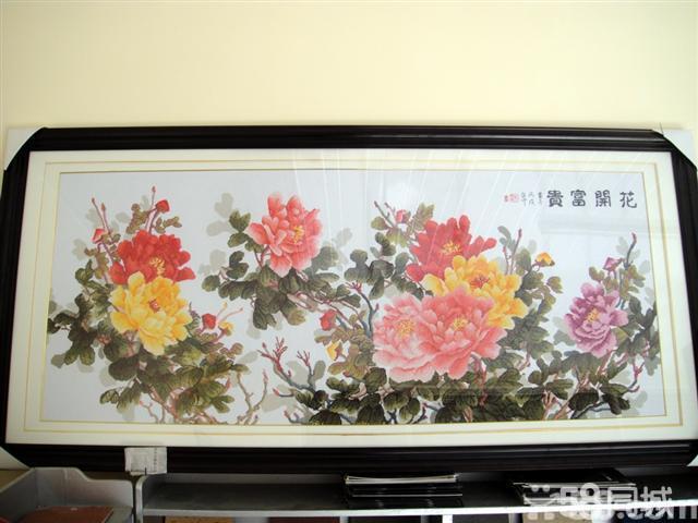 【图】成品花开富贵六尺牡丹